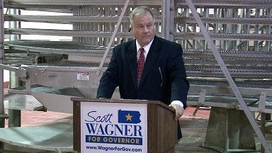 Senator Scott Wagner leads in GOP caucus straw polls