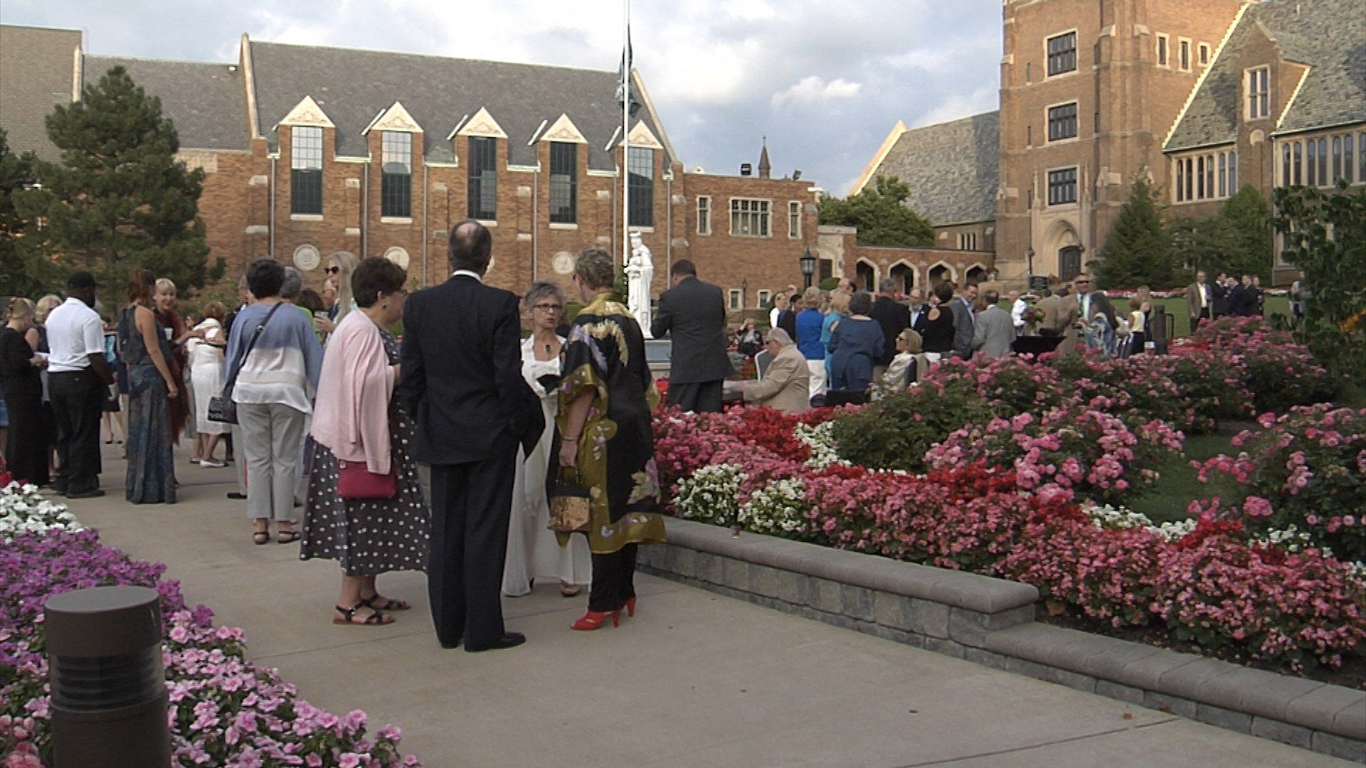 "Inauguration of ""The 501"" at Mercyhurst University"