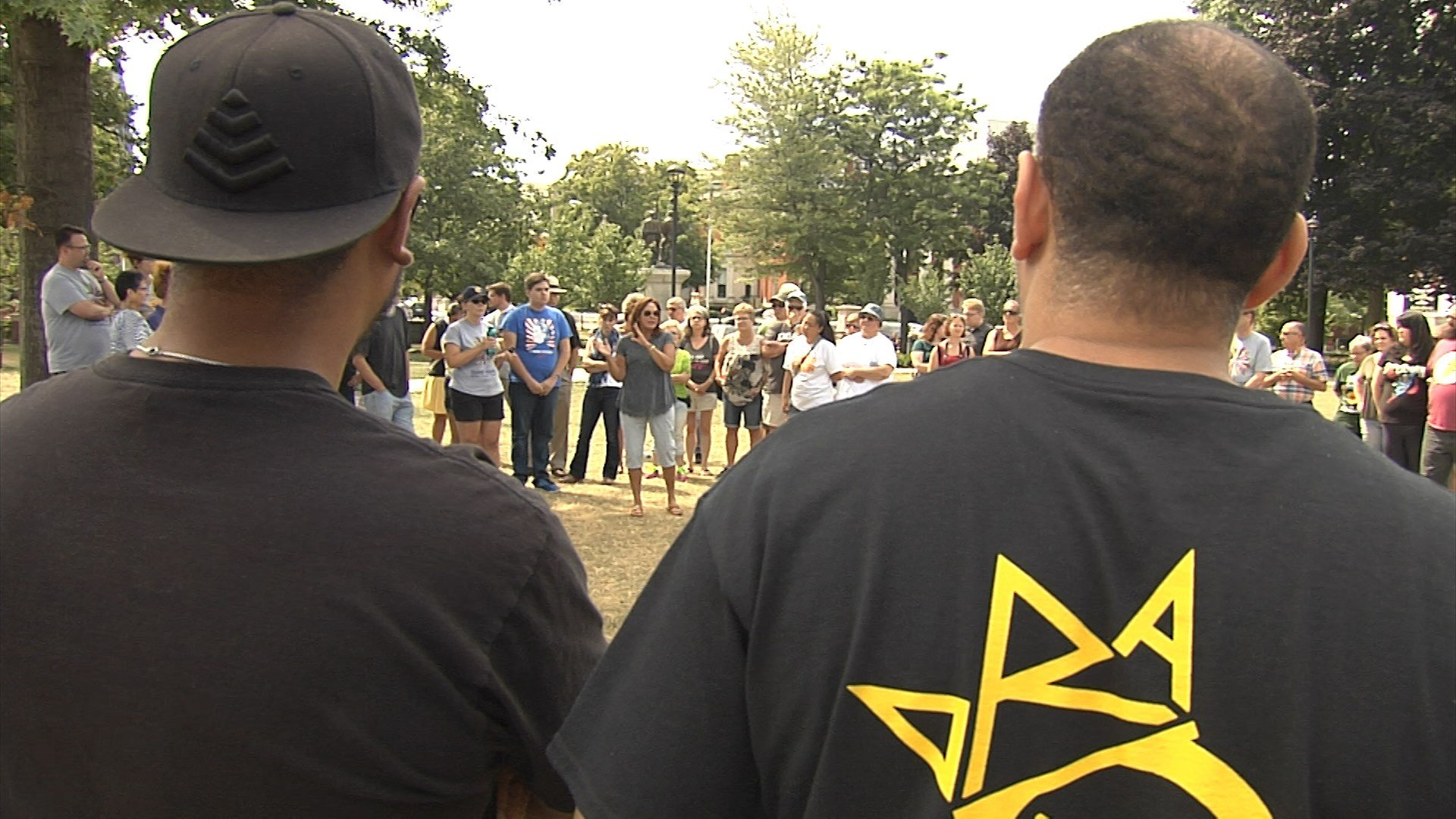 Erie holds rally for Charlottesville