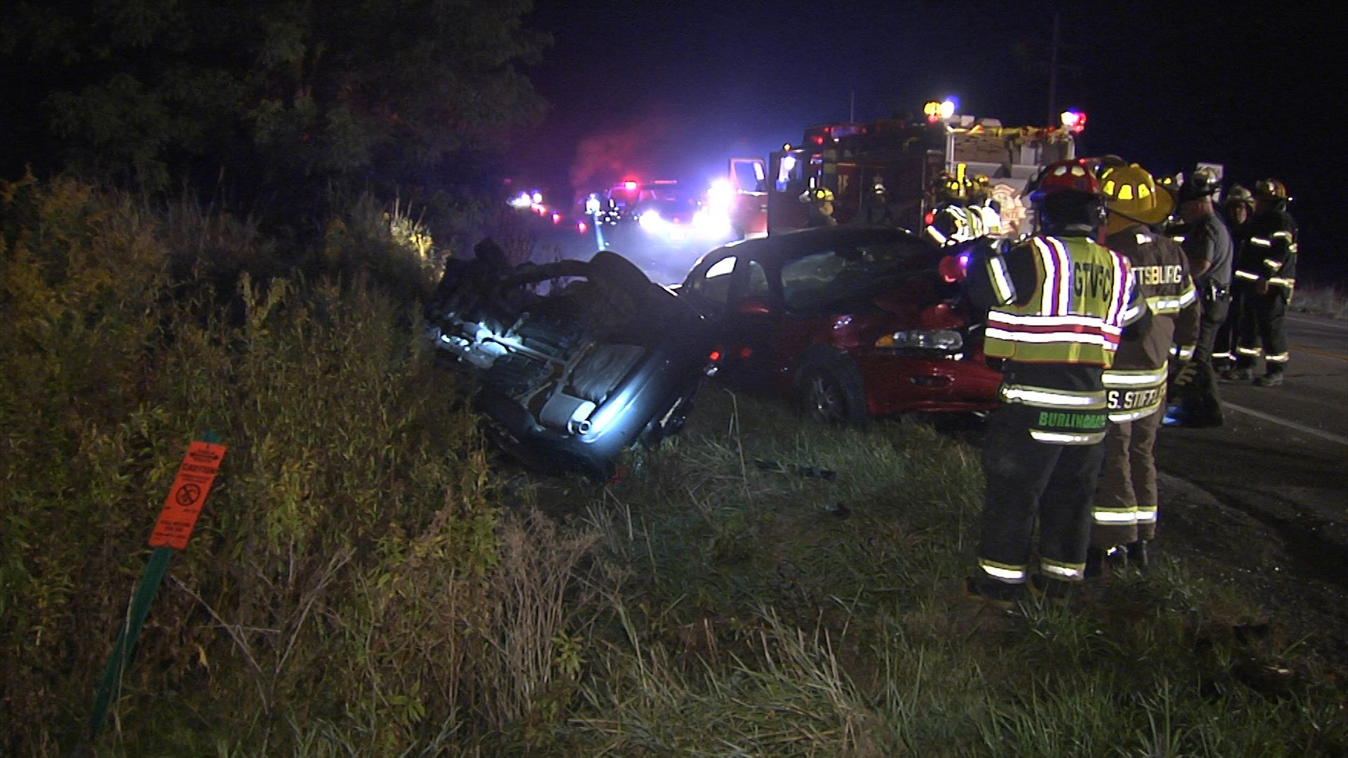 Two injured in accident at Route 8 and Phillipsville Road