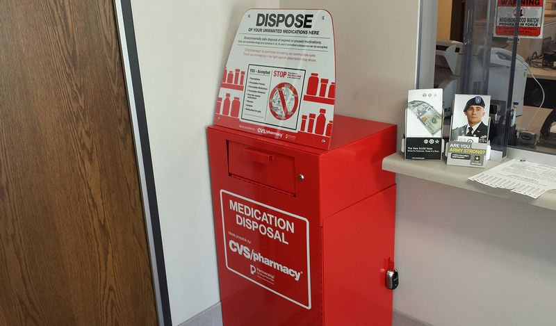 Prescription take-back boxes open at state police barracks across Pennsylvania