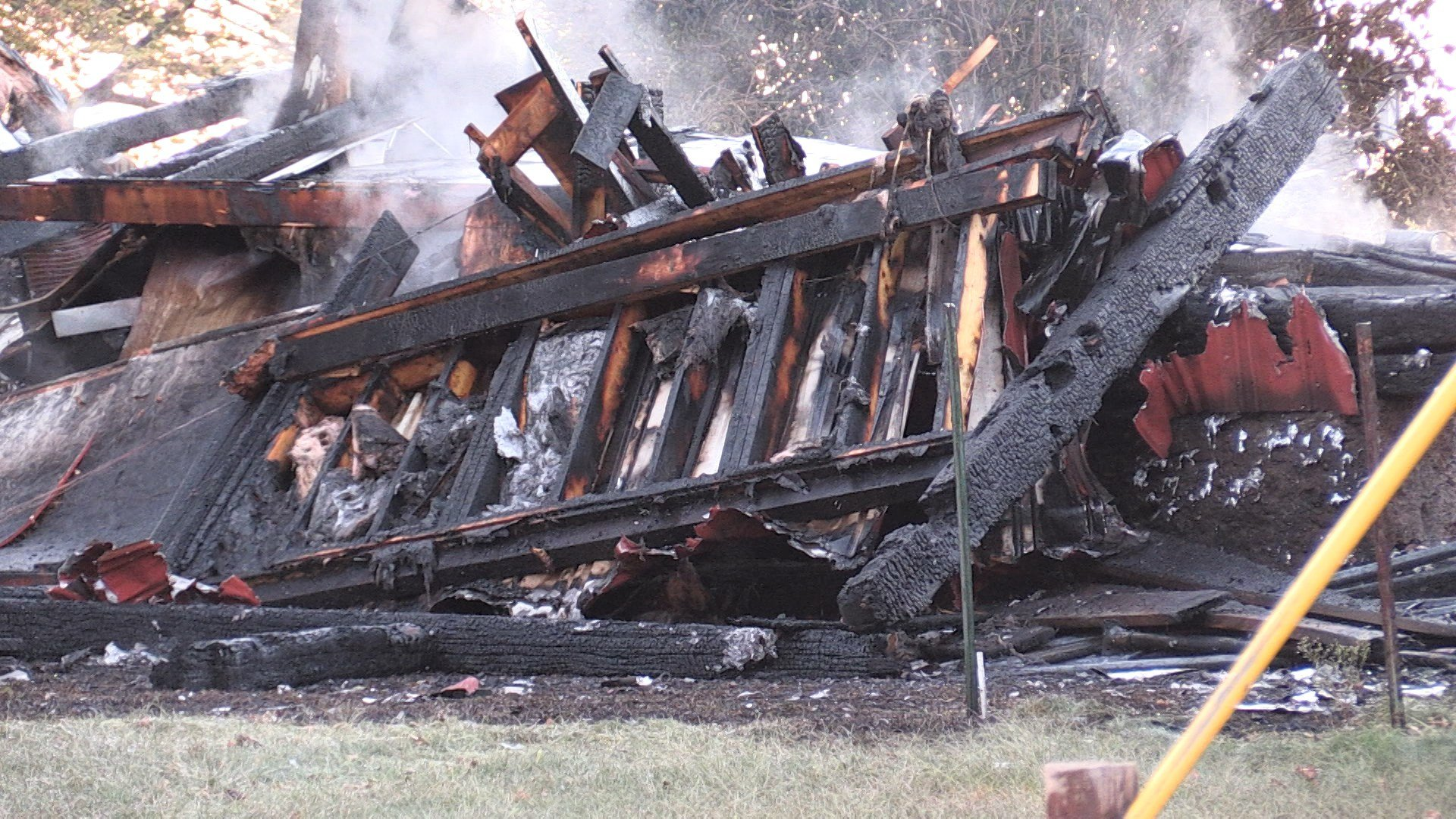 Belle Road barn destroyed by fire