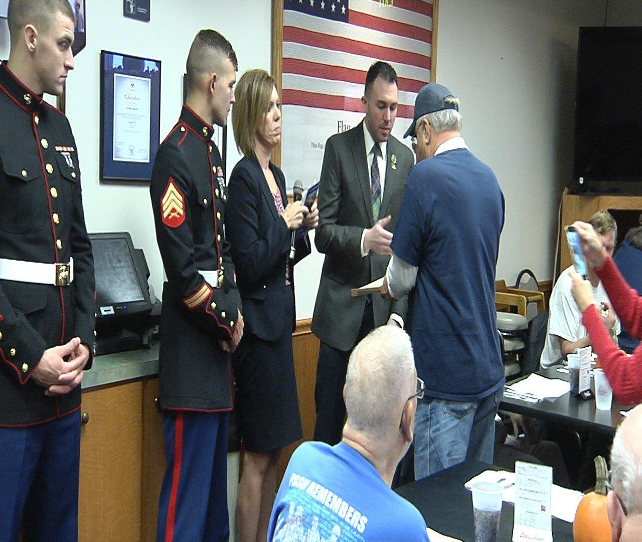 Elks Club Honors Veterans