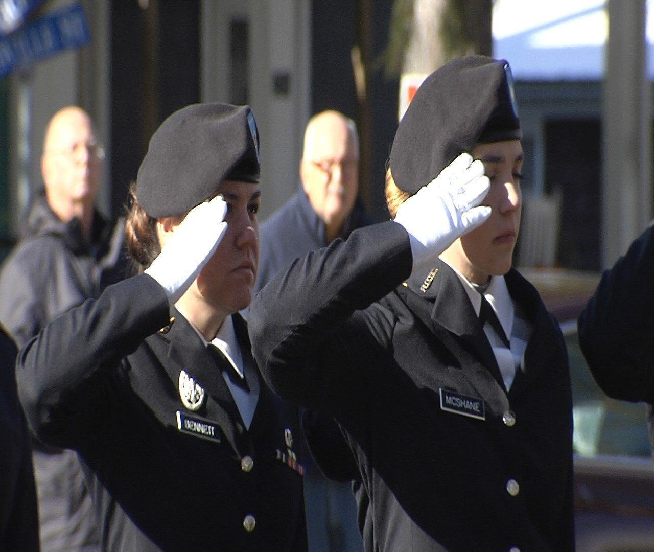 Edinboro Veterans Ceremony