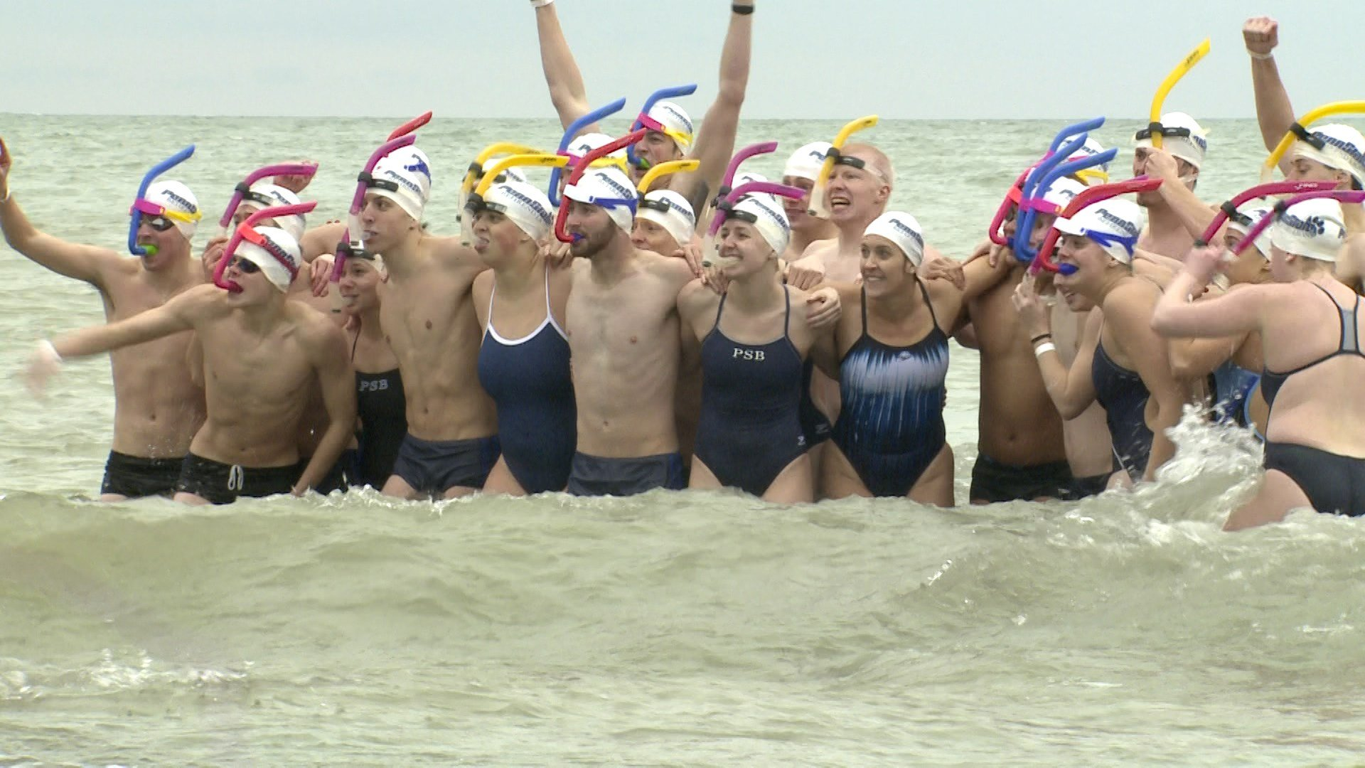 Polar Plunge at Presque Isle raises funds for Special Olympics
