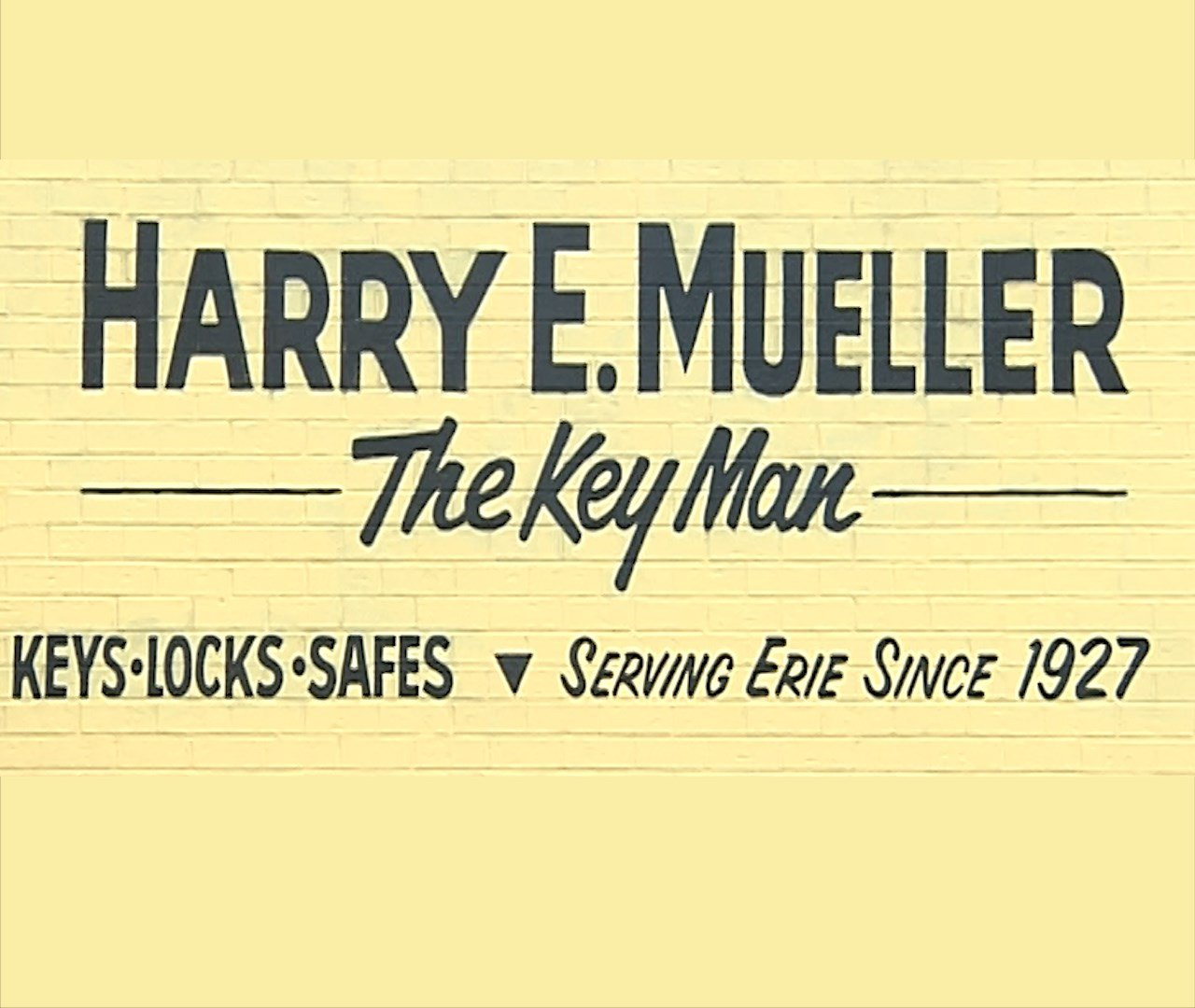Harry Mueller the Key Man