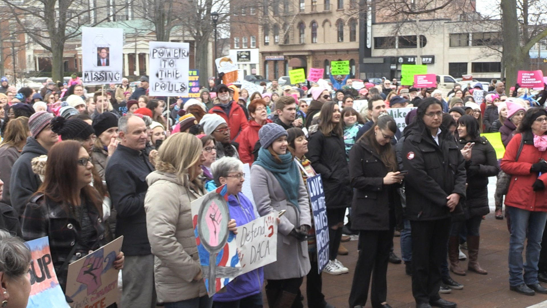 Women's March Erie 2018 - Power to the Polls