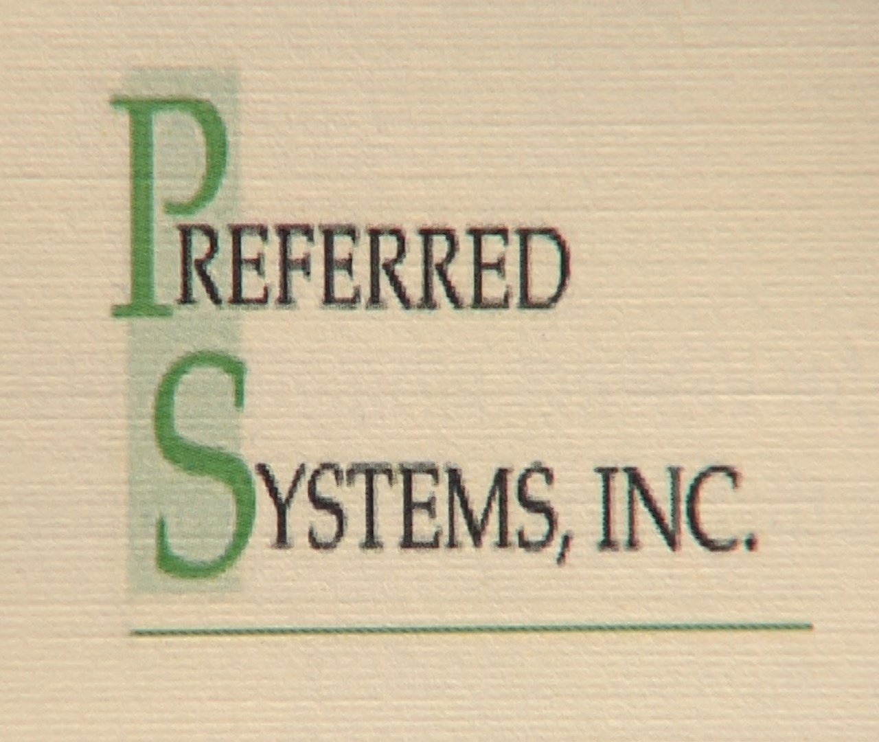 Preferred Systems