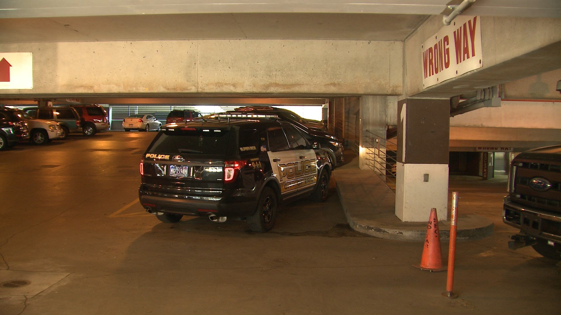 police investigate potential parking garage drug overdose death erie news now wicu and wsee. Black Bedroom Furniture Sets. Home Design Ideas