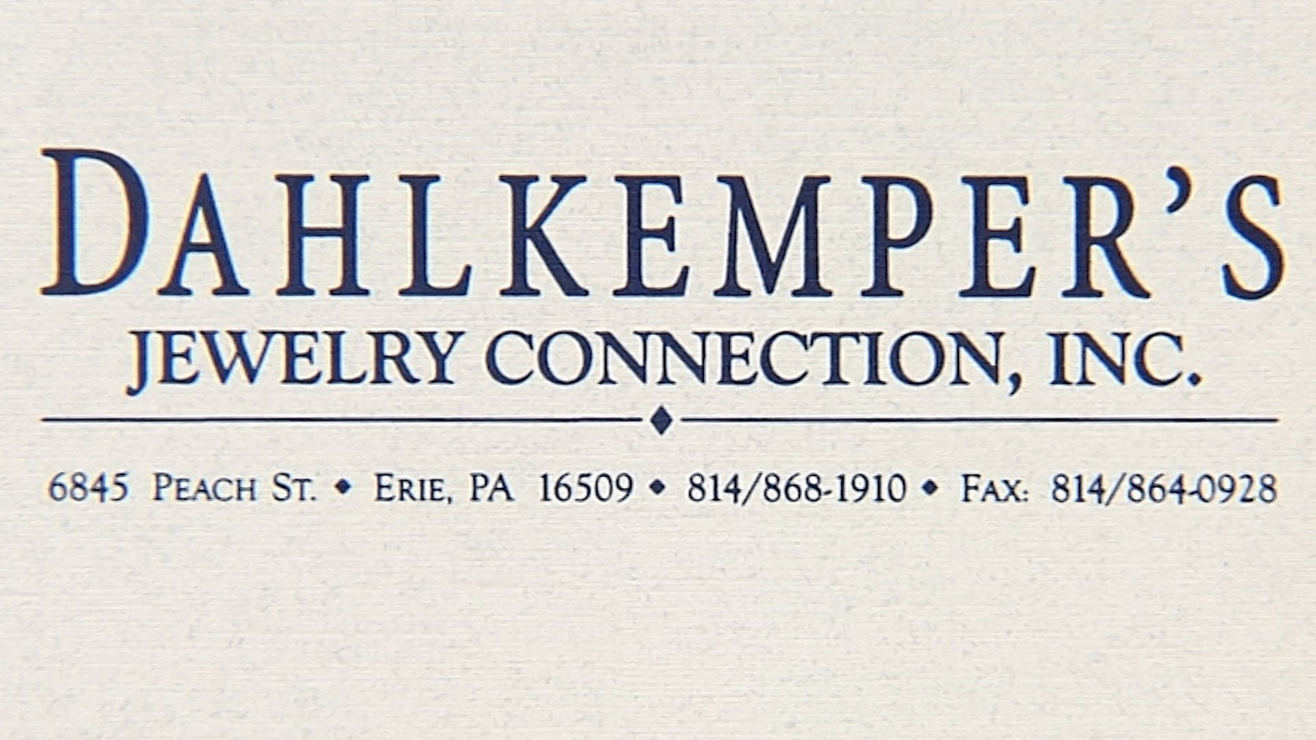 dahlkemper 39 s jewelry connection giving you the business