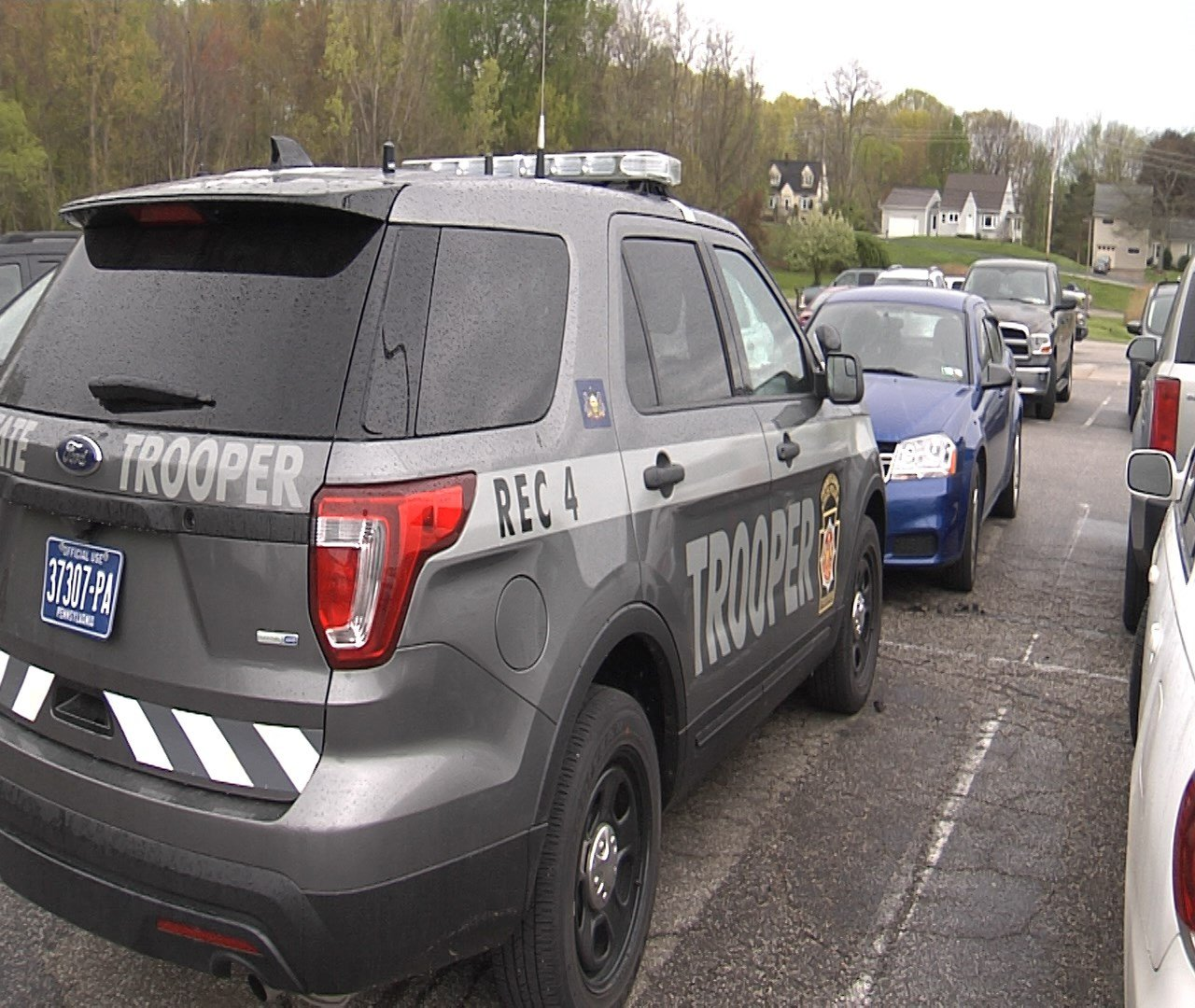New Look For Pennsylvania State Police Cars