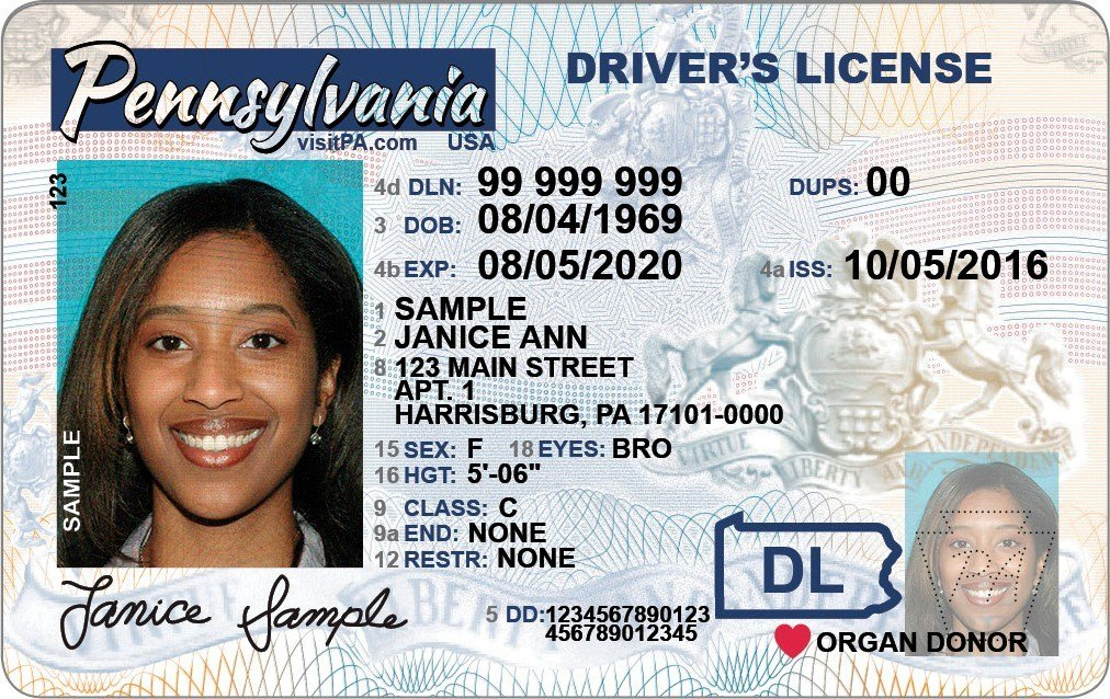 New Florida Drivers License >> New Design Coming to PennDOT Driver Licenses, Identification Cards - Erie News Now | WICU and ...
