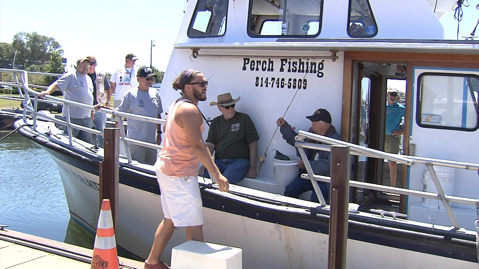 Erie Military Veterans Get Treated To Fishing Trip Erie