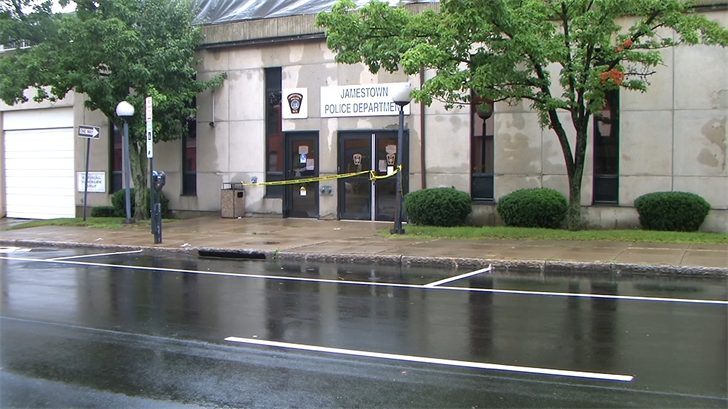 Fairway Auto Center >> Flooding Closes Part of Jamestown, New York Police Department - Erie News Now | WICU and WSEE in ...