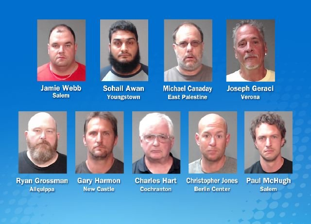 Weny news cochranton man among nine charged in ohio prostitution sting a cochranton man was among nine charged as part of a prostitution sting in the youngstown ohio area the ohio attorney generals office told wfmj monday altavistaventures Choice Image