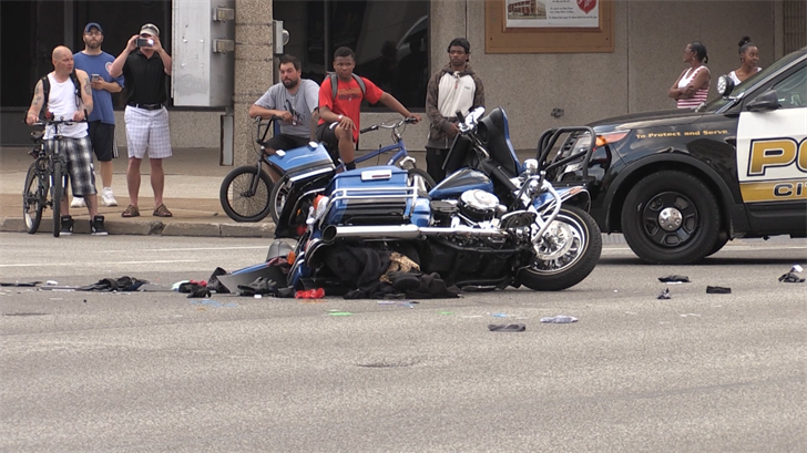 Woman Cited In Fatal Motorcycle Crash Downtown Erie