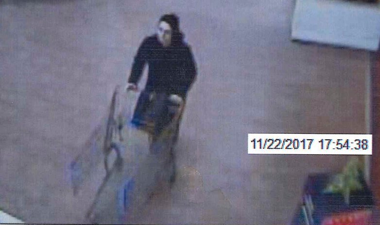 police trying to identify suspect in walmart retail theft case