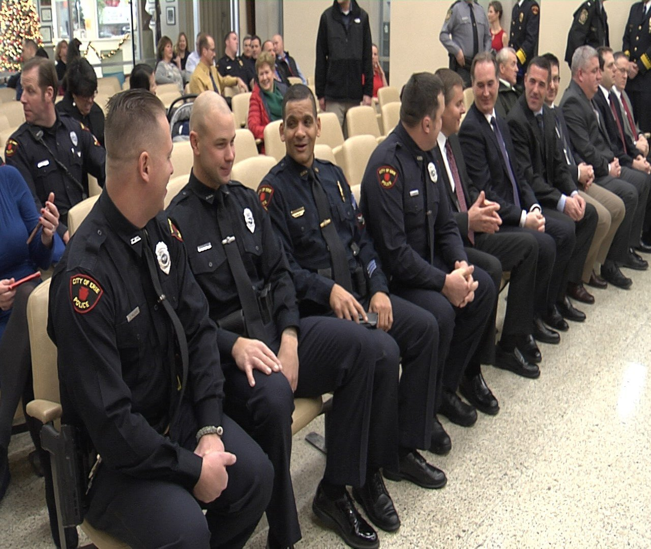 Erie Police Officers Recognized for Outstanding Efforts ...
