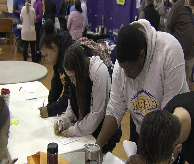 Erie High School students looking to further their education at college are  getting a taste of regional schools and what they have to offer.
