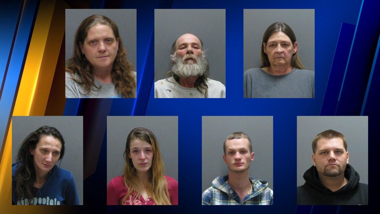 Seven Arrested Drugs Seized In Three Jamestown Raids