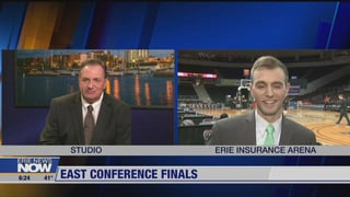 01:43; Erie Sports Now Live at BayHawks