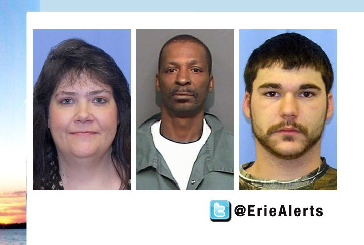 Wanted Suspects, Featured on 12News, Apprehended - WICU12/WSEE Erie