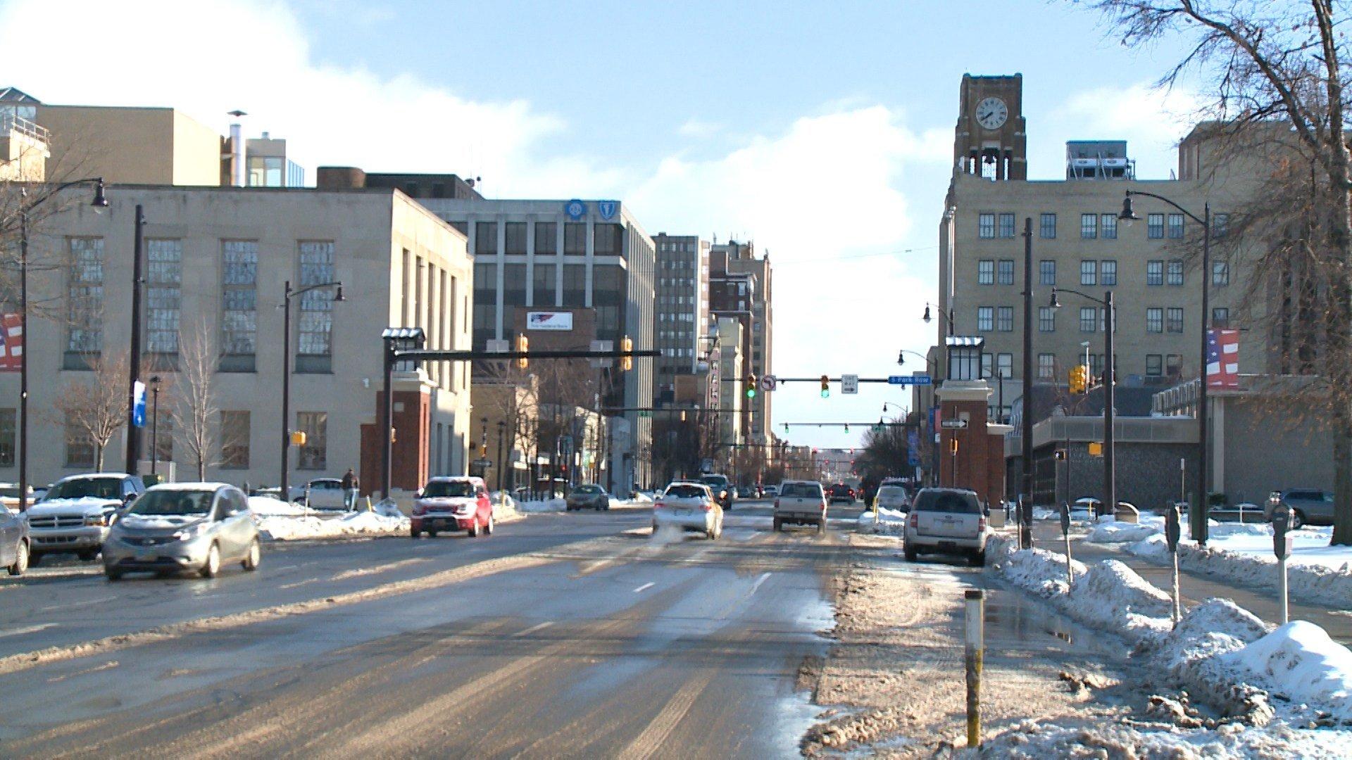 Downtown Erie PA