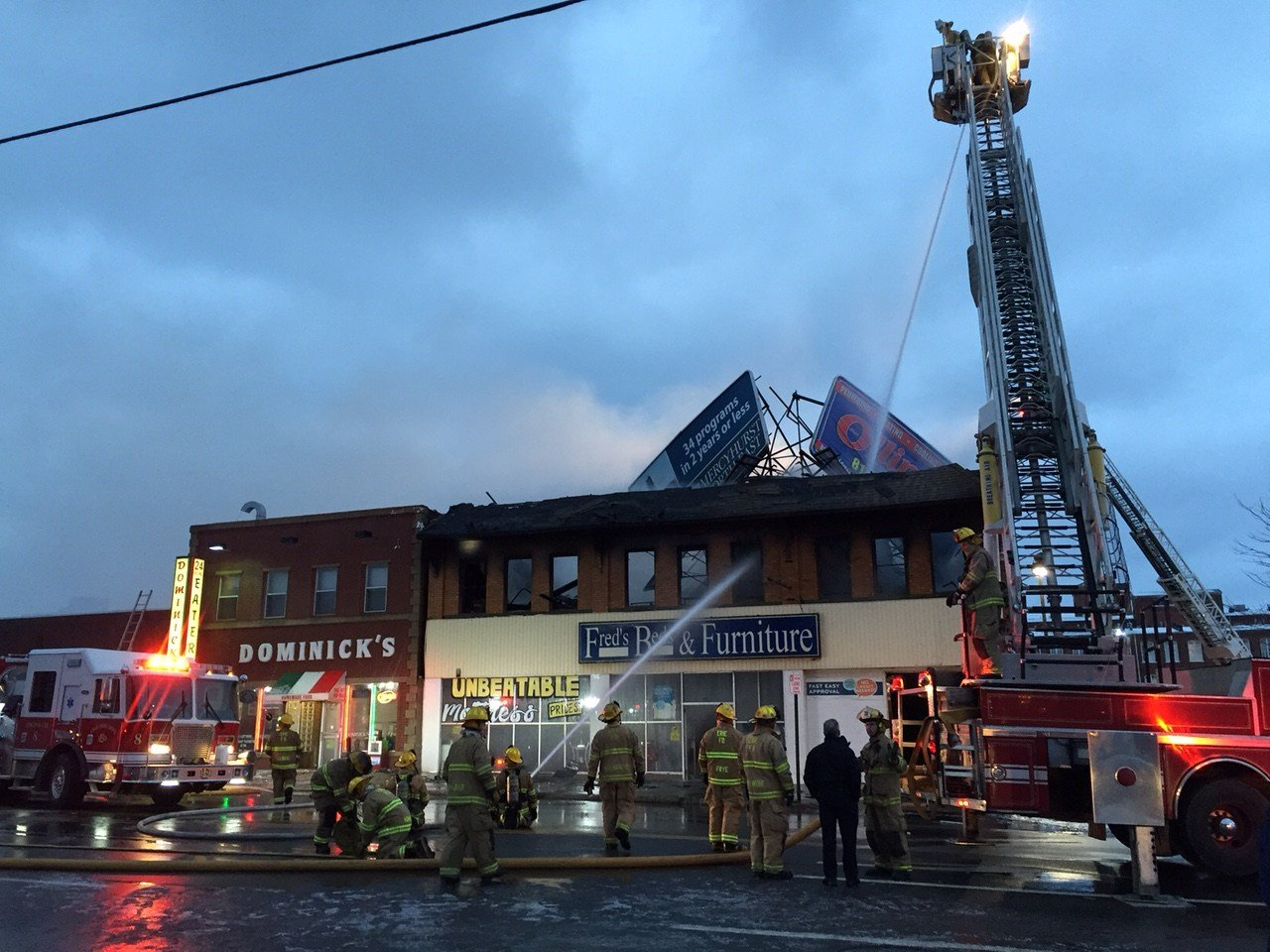 Update fire destroys iconic erie business damages other