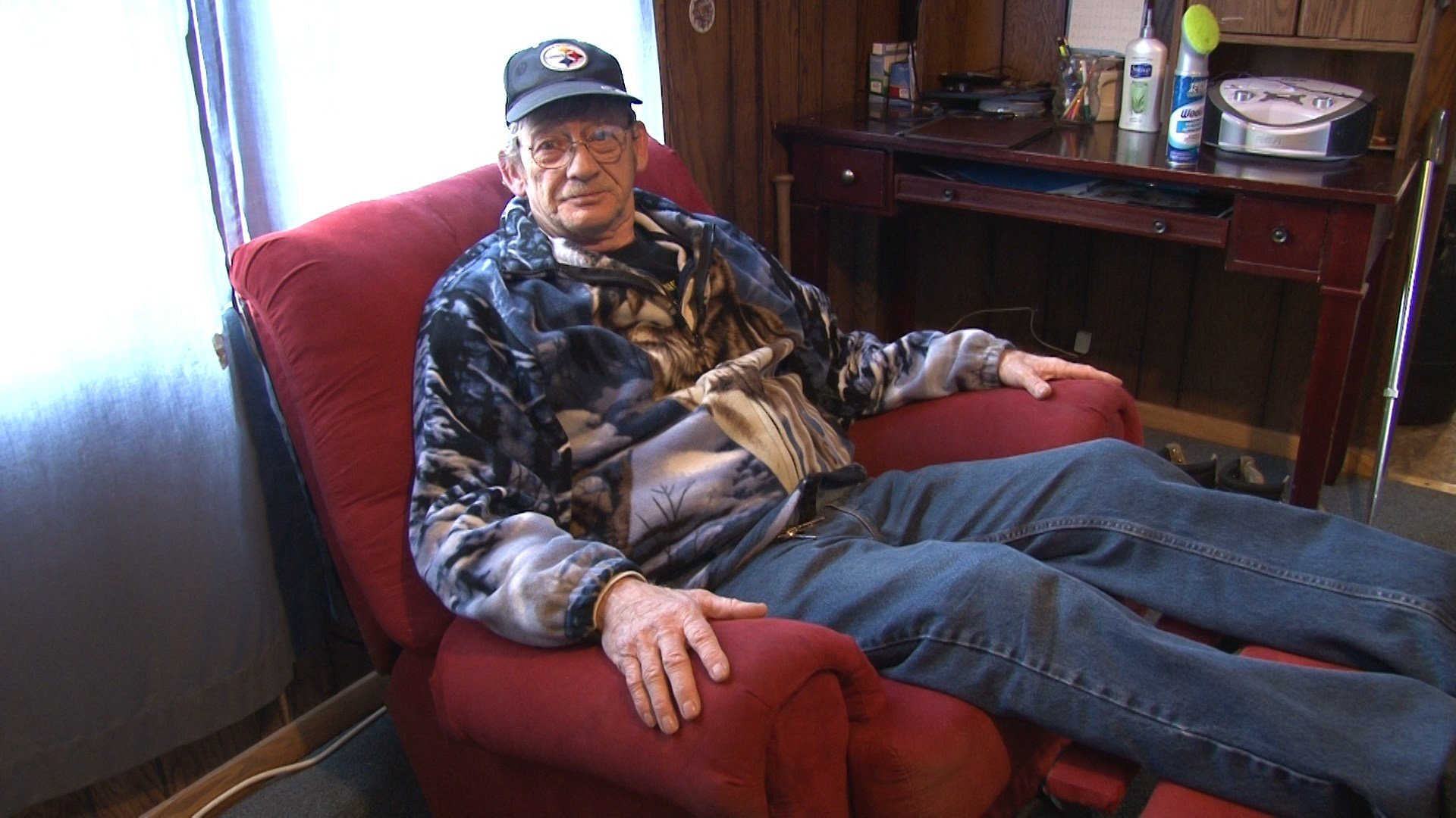 Silver Lining for Man Who Lost Recliner in Fire - Erie News Now : WICU u0026 WSEE in Erie, PA