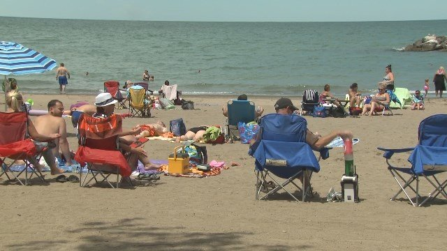 A Swimming Advisory Has Been Issued For Beach 11 At Presque Isle State Park Due To Elevated E Coli Levels