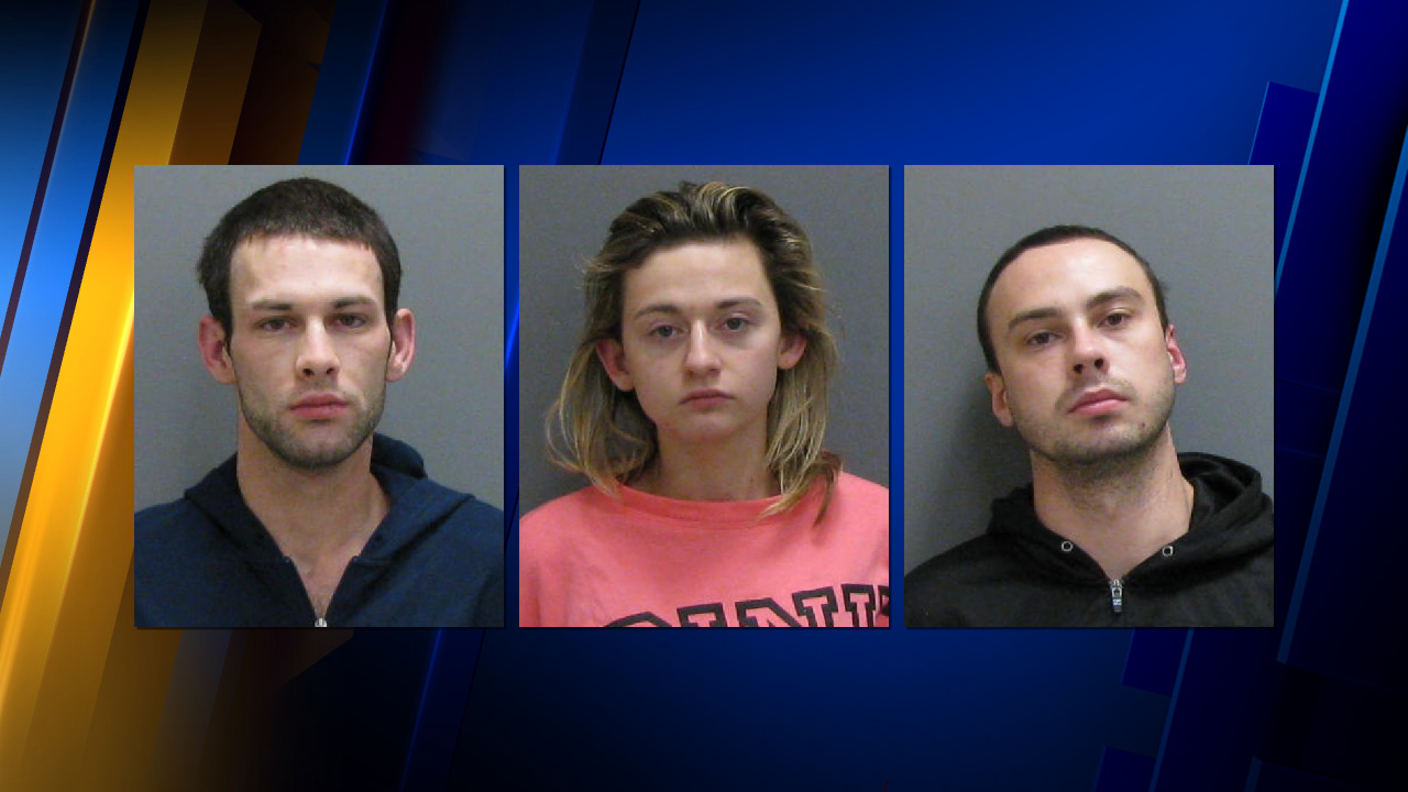 Three Arrested After Meth Lab Found During Traffic Stop