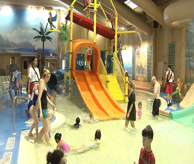Splash Lagoon Water Park Just Made Some New Additions That Has Pas And Kids Eing A Dip In The It S Expanded Children Play Area At