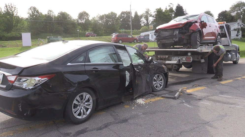 SUV Rolls Over in Accident - Erie News Now | WICU and WSEE in Erie, PA