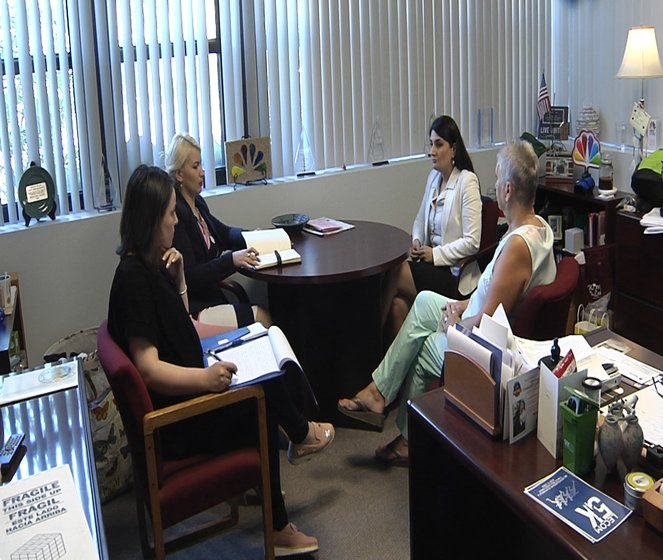 Broadcast Colleagues From Republic of Georgia Wrap-up Visit