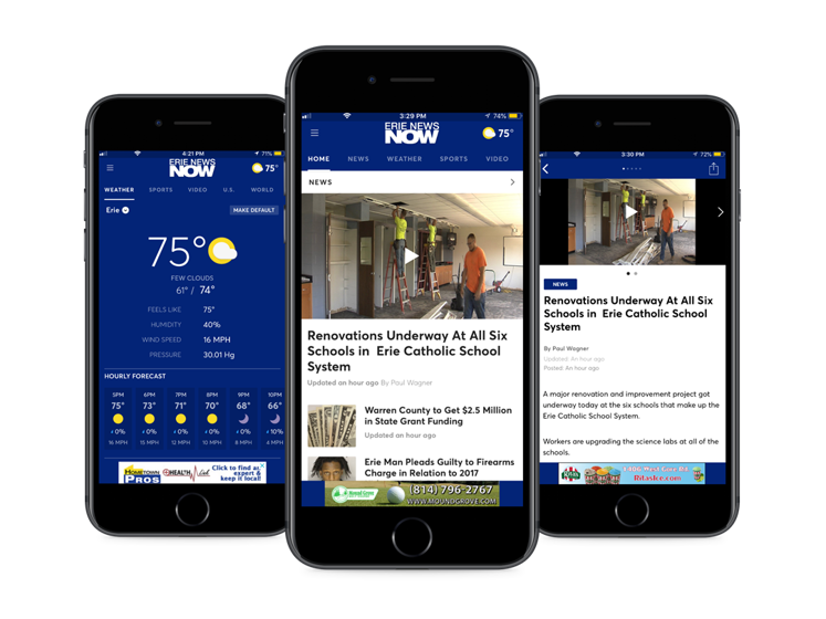 Erie News Now App - Erie News Now   WICU and WSEE in Erie, PA