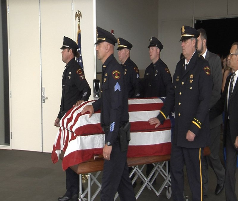 Weny News Erie Police Officer Mike Conway Laid To Rest
