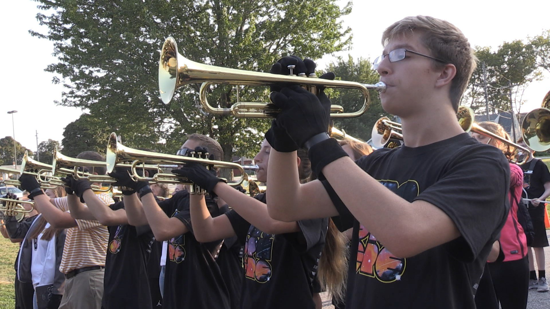 Going Behind The Scenes With The Iroquois High Marching Band Erie