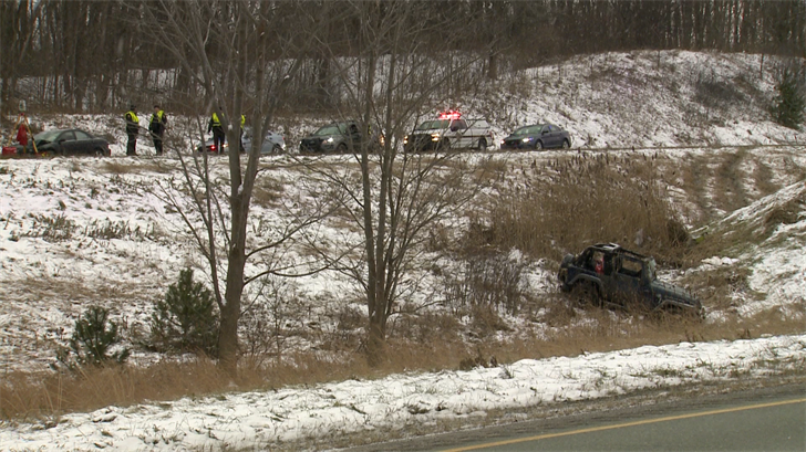 State Police Identify Man Killed in Two-Vehicle Crash that Shut