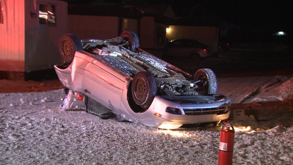 Driver Charged with DUI After Rollover Crash Closes Part of