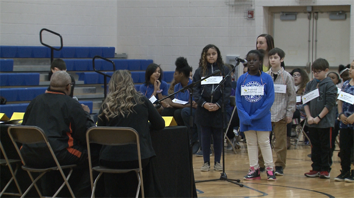 Students from Five Schools Compete in Citywide Spelling Bee - Erie