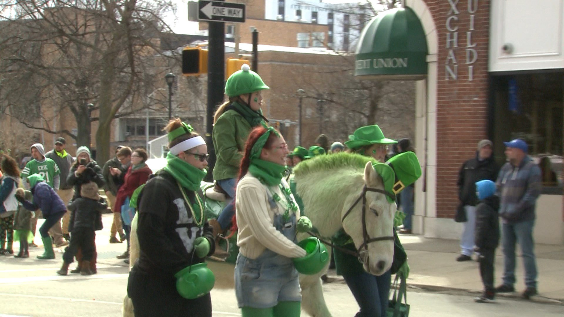 Erie Residents and Visitors Enjoy St. Patrick's Day Parade - Erie News Now | WICU and WSEE in Erie, PA