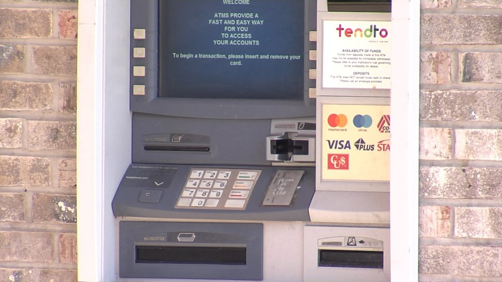 It appears criminals have tampered with a couple of ATM machines at two different credit unions in downtown Erie.