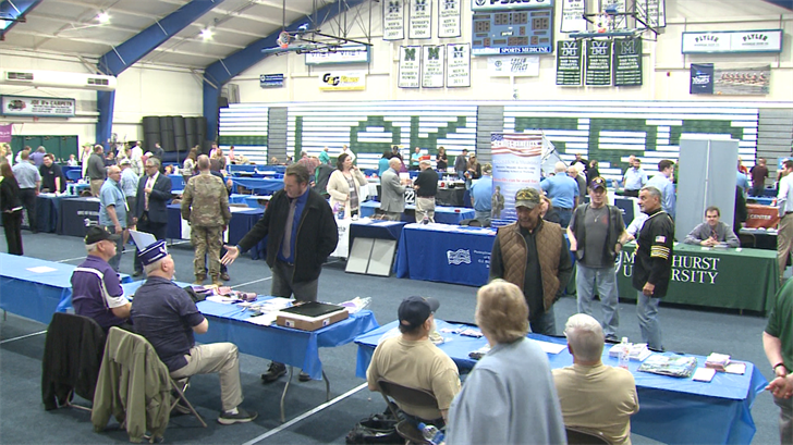 Erie Veterans Check out Resource and Job Expo - Erie News Now | WICU