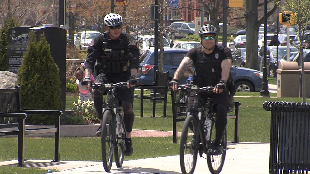Erie Police Bicycle Patrols Start in Downtown Erie - Erie