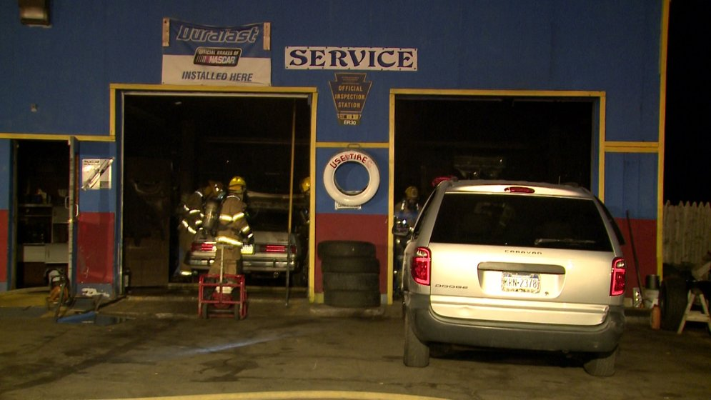 Car Catches Fire Inside East Erie Car Dealership Erie News Now