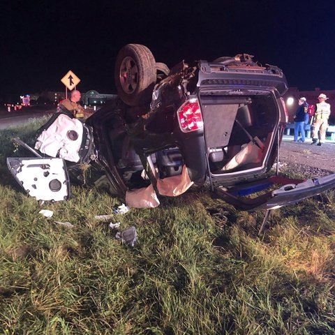 Driver Taken to Hospital After SUV Hits Embankment, Rolls Over o