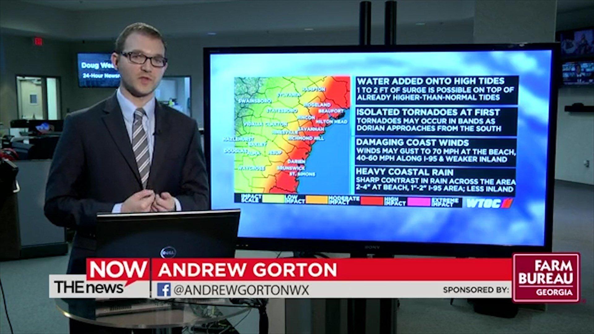 WTOC in Savannah Georgia Prepares for Hurricane Coverage