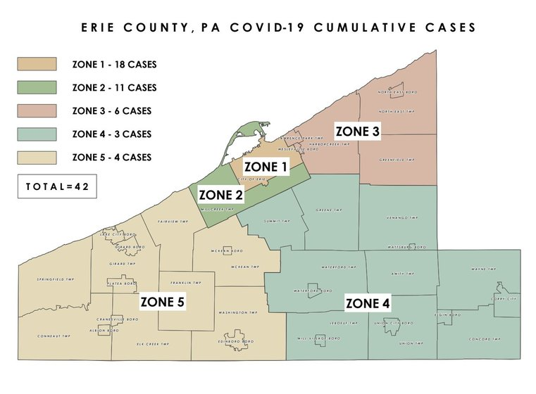 Two More People Test Positive For Coronavirus In Erie County In Erie News Now Wicu And Wsee In Erie Pa