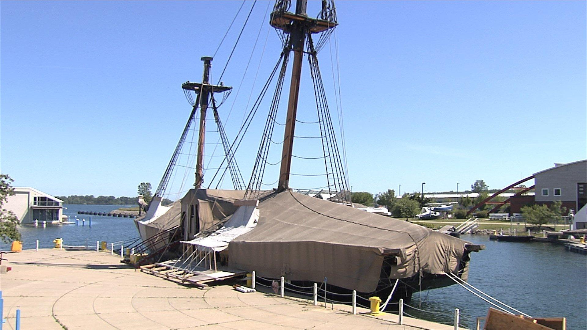 Brig Niagara Halloween 2020 Brig Niagara Docked Due to Pandemic: Uncertain is Ship Will Sail