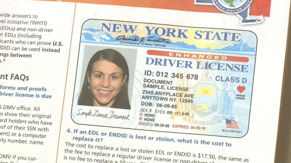 new york drivers license lost out of state